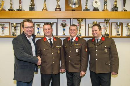 Feuerwehr-Wahl Zwerndorf Gruppenfoto