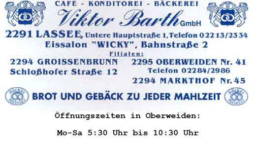Flyer Bäckerei Barth