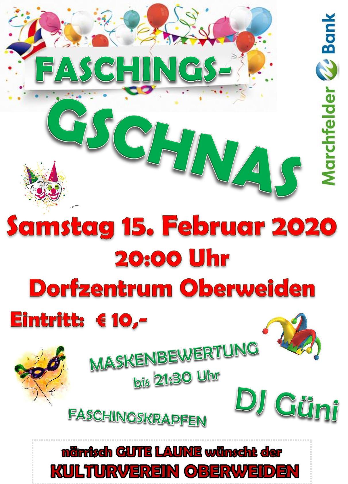 Gschnas - Kulturverein Oberweiden